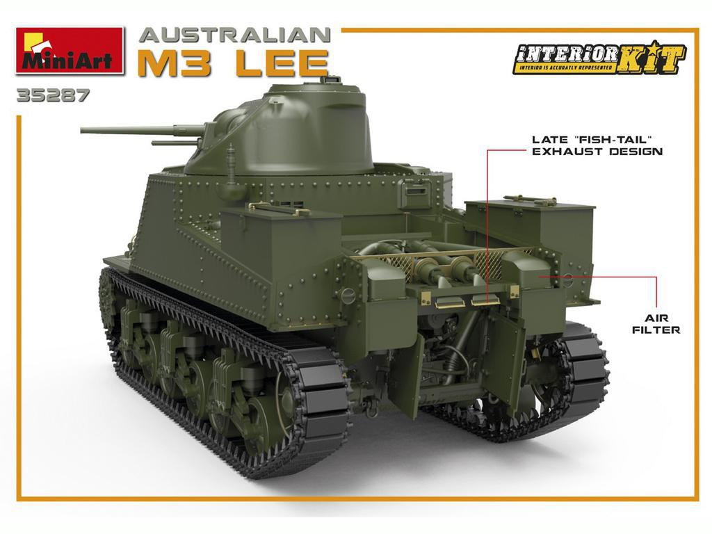Australian M3 LEE. Interior Kit (Vista 8)