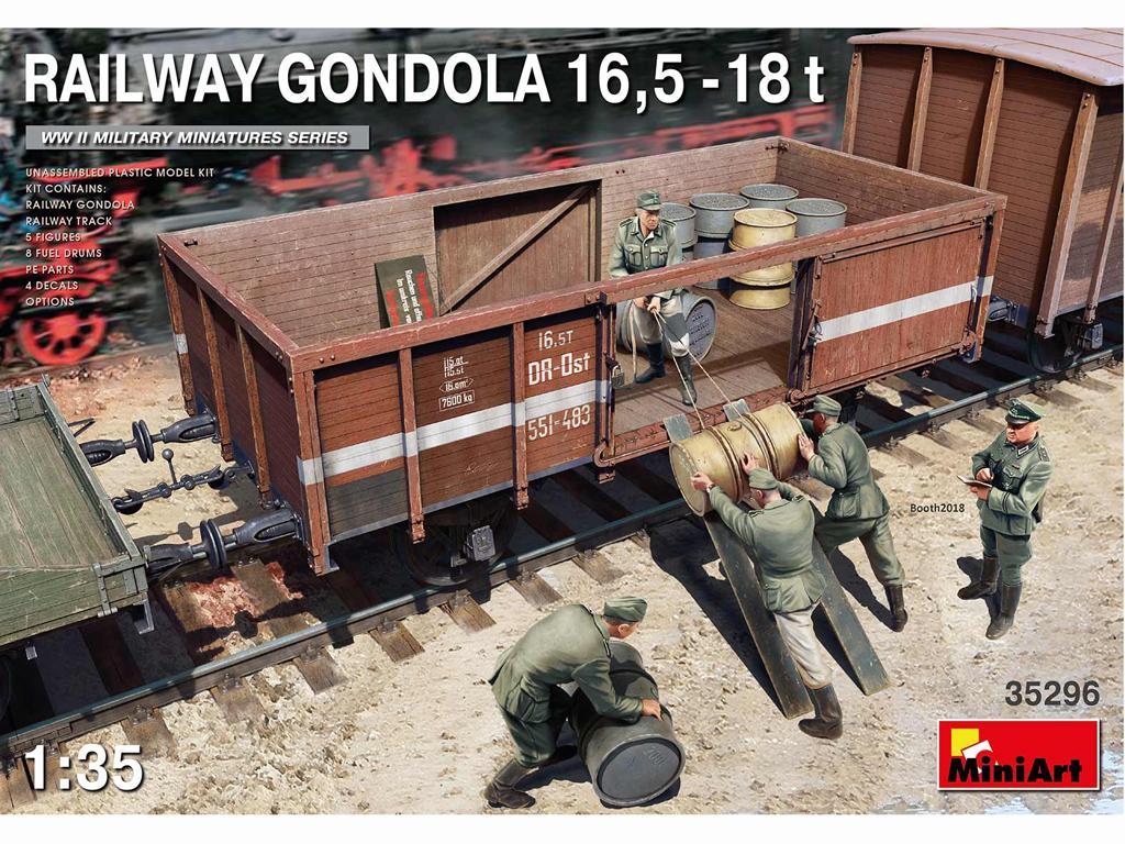 Railway Gondola 16,5-18 t (Vista 1)