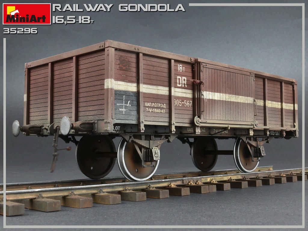 Railway Gondola 16,5-18 t (Vista 10)