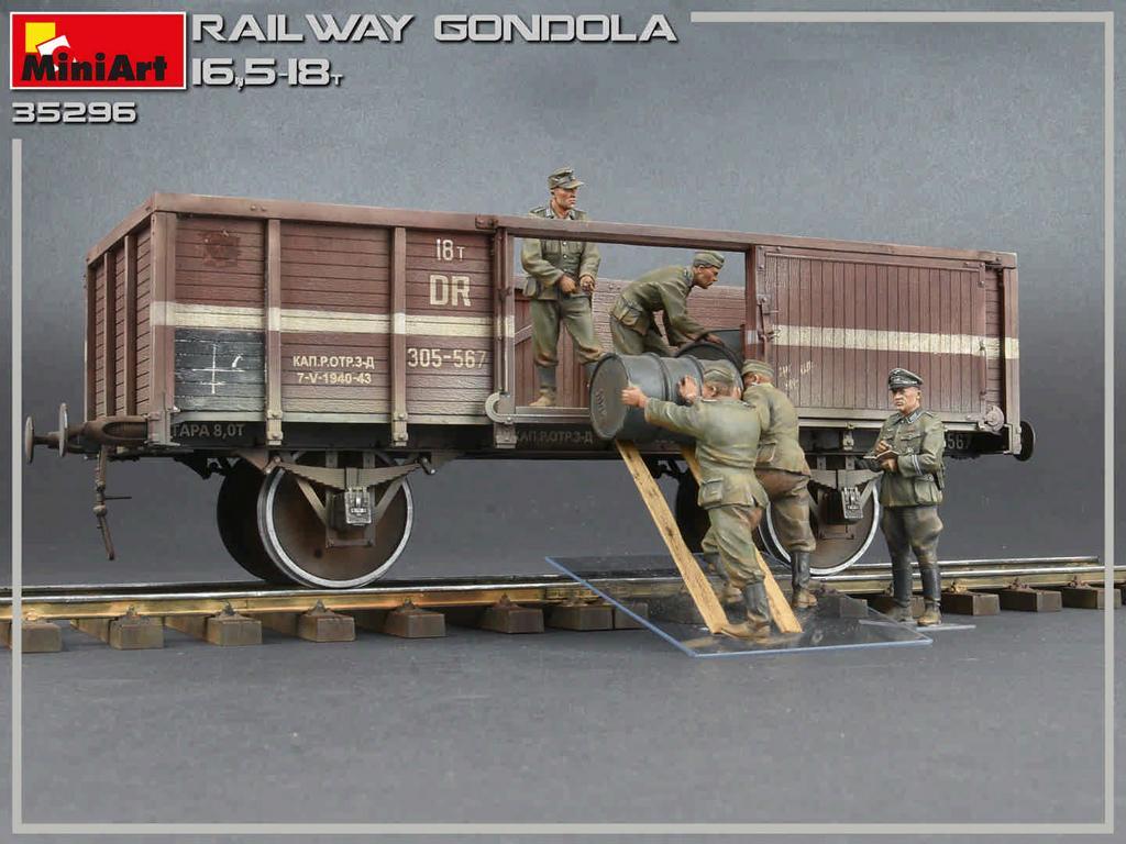 Railway Gondola 16,5-18 t (Vista 2)