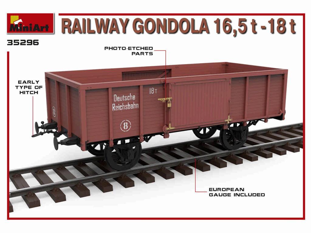Railway Gondola 16,5-18 t (Vista 3)