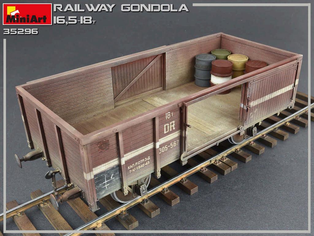 Railway Gondola 16,5-18 t (Vista 9)