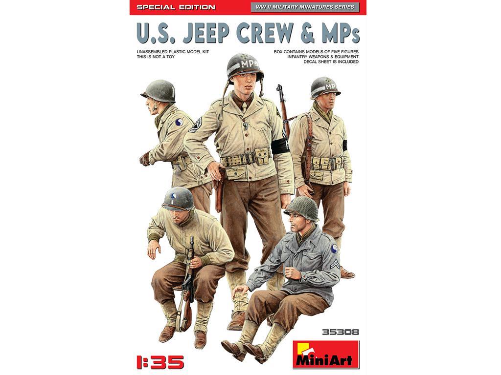 Dotacion Jeep y Policia Militar (Vista 1)