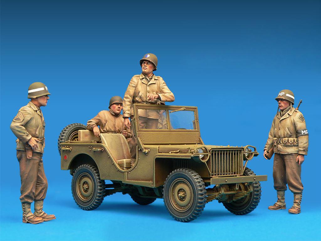 Dotacion Jeep y Policia Militar (Vista 6)