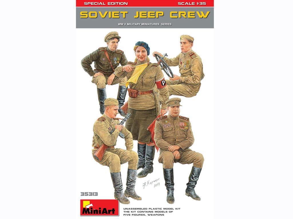 Tripulación Soviética de Jeeps (Vista 1)