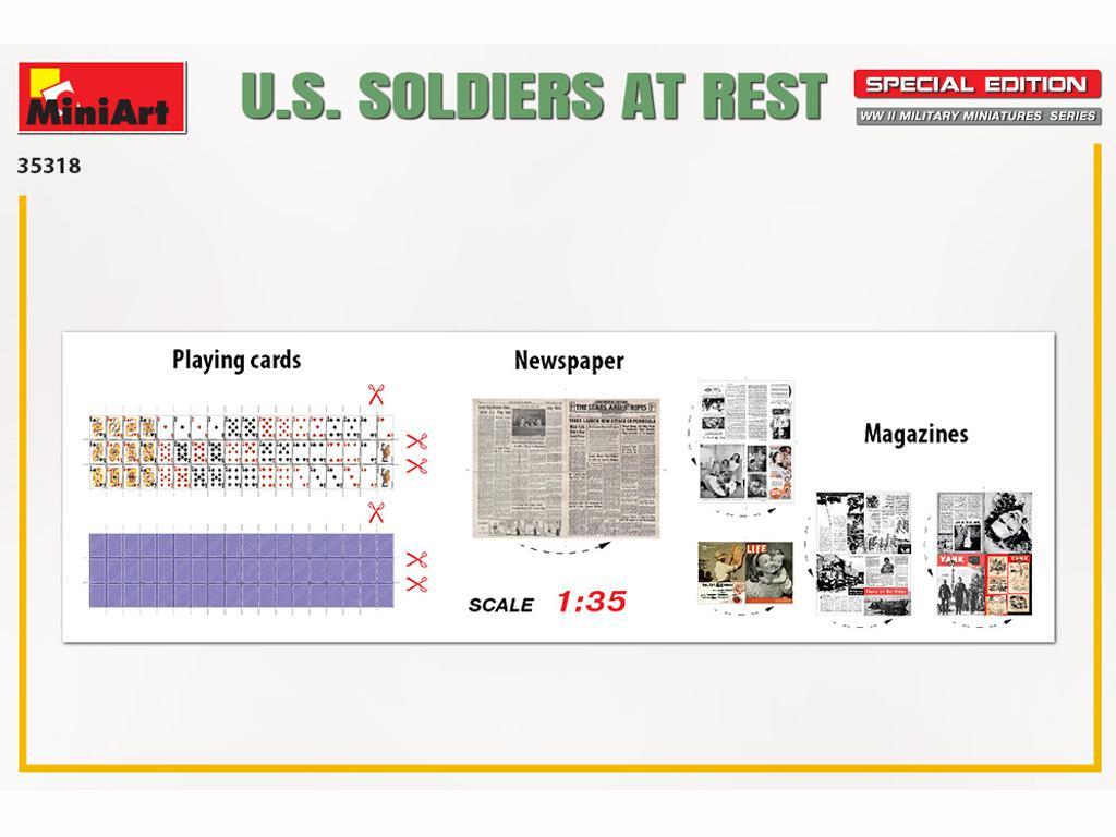 Soldados US descansando (Vista 2)
