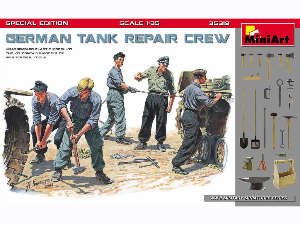 Equipo Alemán de Reparación de Tanques (Vista 1)
