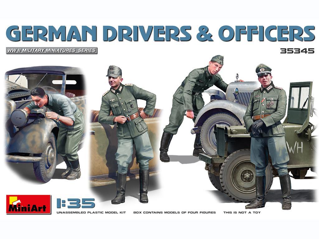 Conductores y Oficiales Alemanes (Vista 1)
