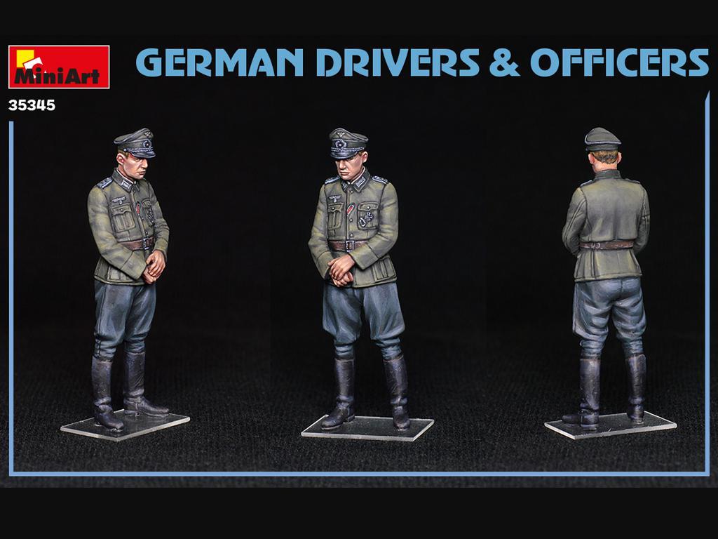 Conductores y Oficiales Alemanes (Vista 2)