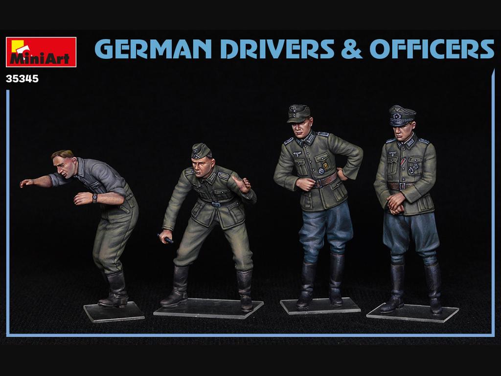 Conductores y Oficiales Alemanes (Vista 3)