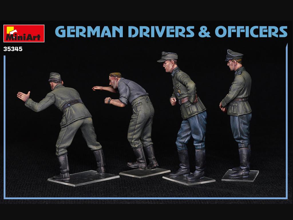 Conductores y Oficiales Alemanes (Vista 4)