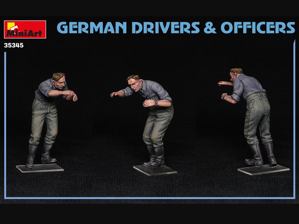Conductores y Oficiales Alemanes (Vista 5)
