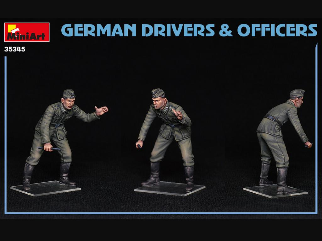 Conductores y Oficiales Alemanes (Vista 6)