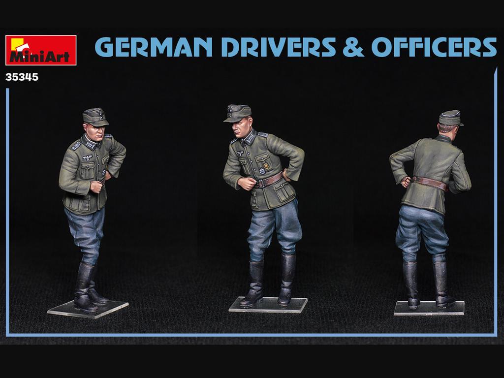 Conductores y Oficiales Alemanes (Vista 7)