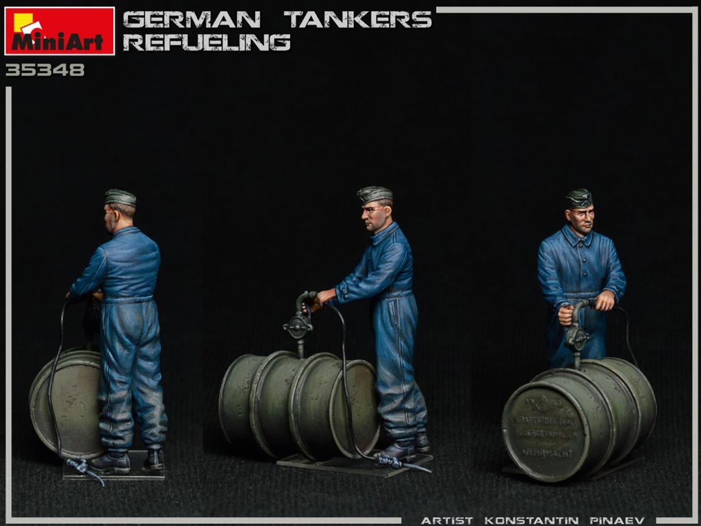 Tanquistas Alemanes Repostando (Vista 8)
