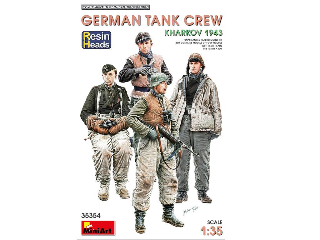Tanquistas Alemanes Kharkov 1943 (Vista 1)