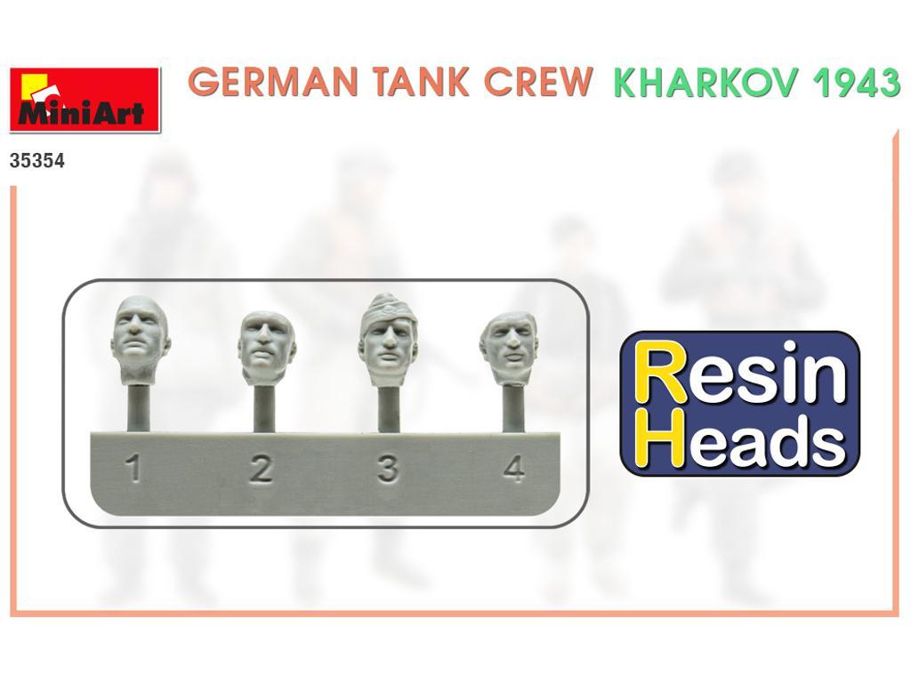 Tanquistas Alemanes Kharkov 1943 (Vista 2)