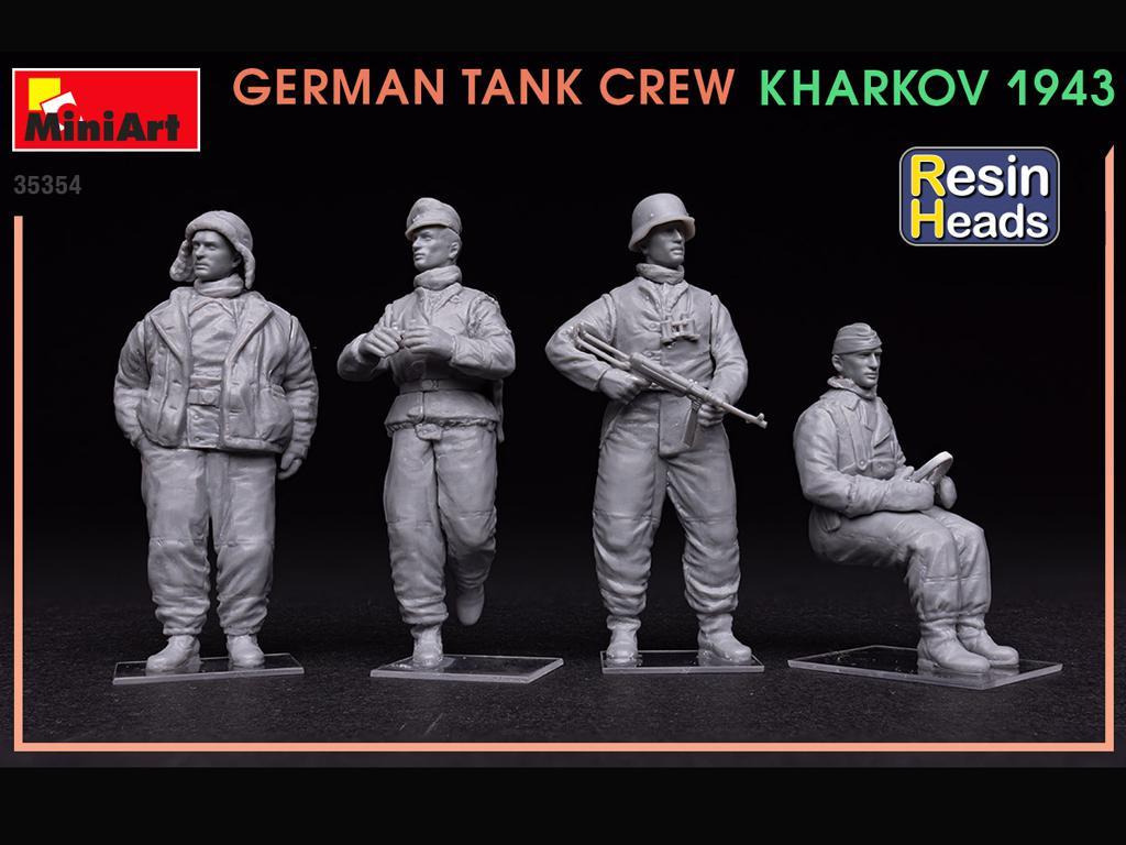 Tanquistas Alemanes Kharkov 1943 (Vista 3)