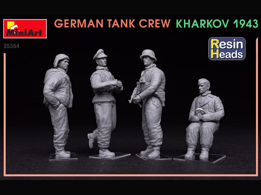 Tanquistas Alemanes Kharkov 1943 (Vista 4)