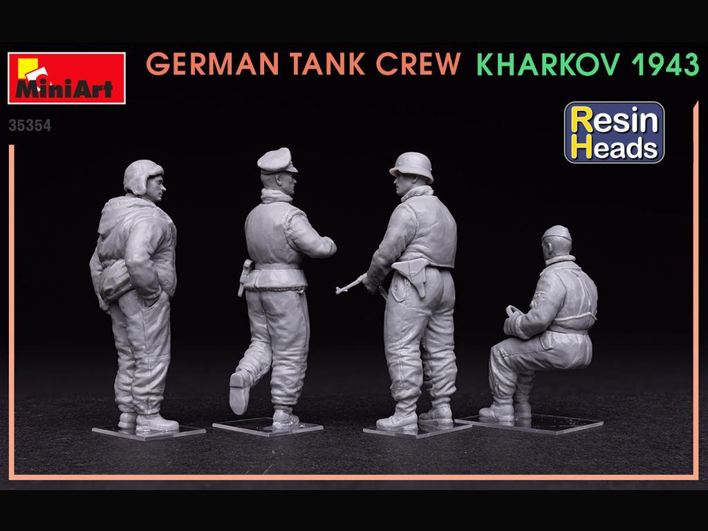 Tanquistas Alemanes Kharkov 1943 (Vista 5)