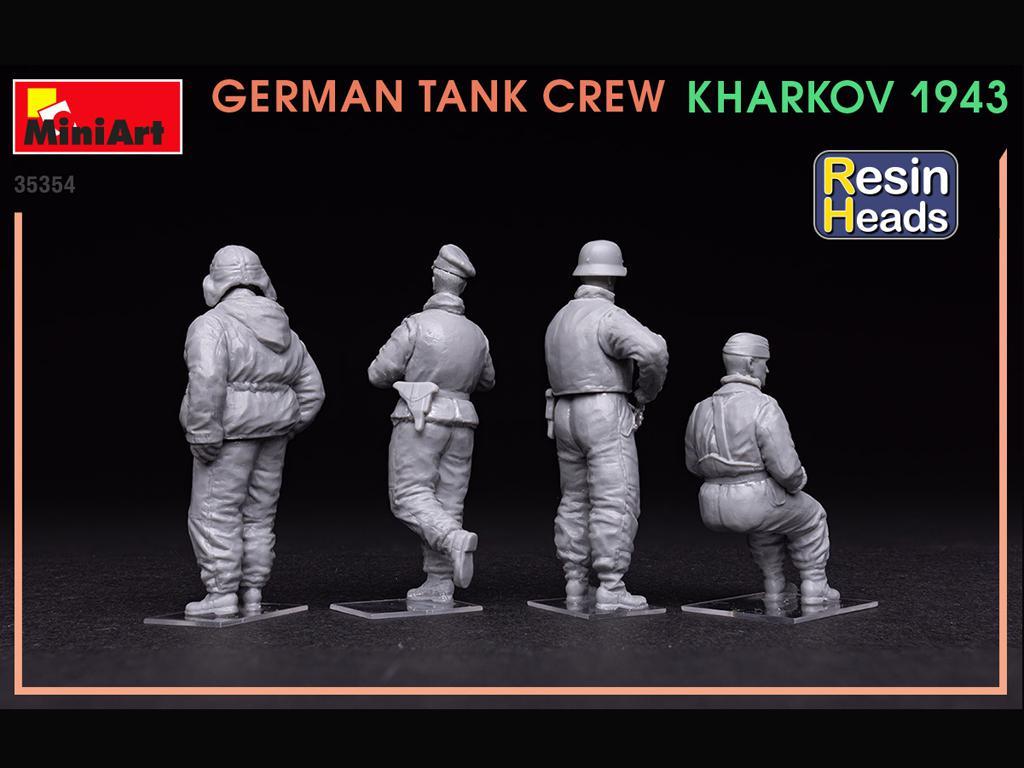 Tanquistas Alemanes Kharkov 1943 (Vista 6)