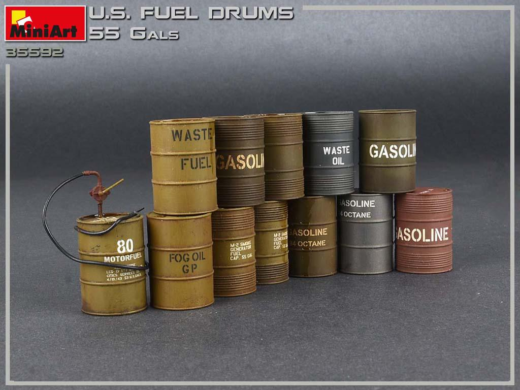 Bidones de combustible de EE.UU. 55 Gals (Vista 6)