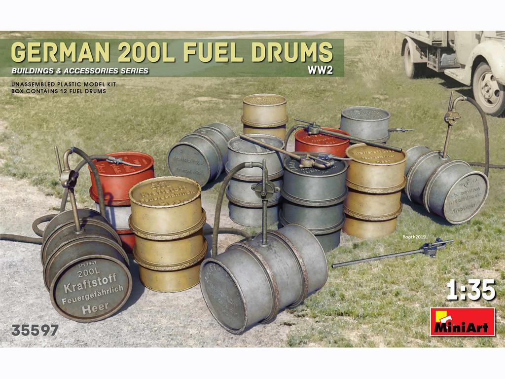 Bidones Combustible Alemanes de 200 L (Vista 1)