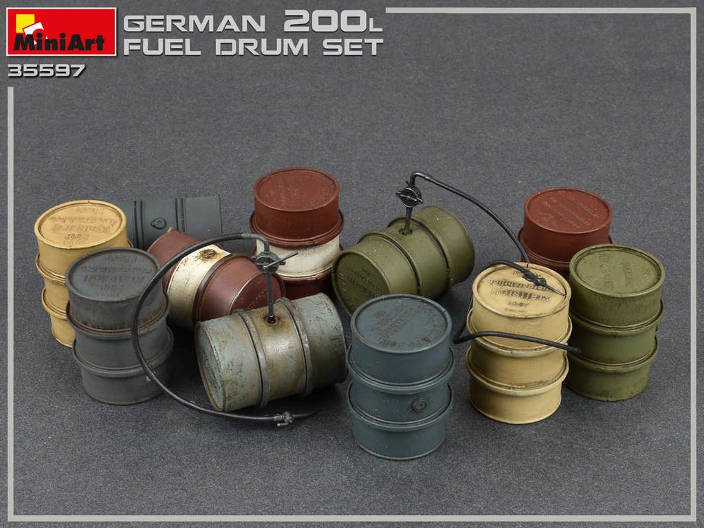 Bidones Combustible Alemanes de 200 L (Vista 3)