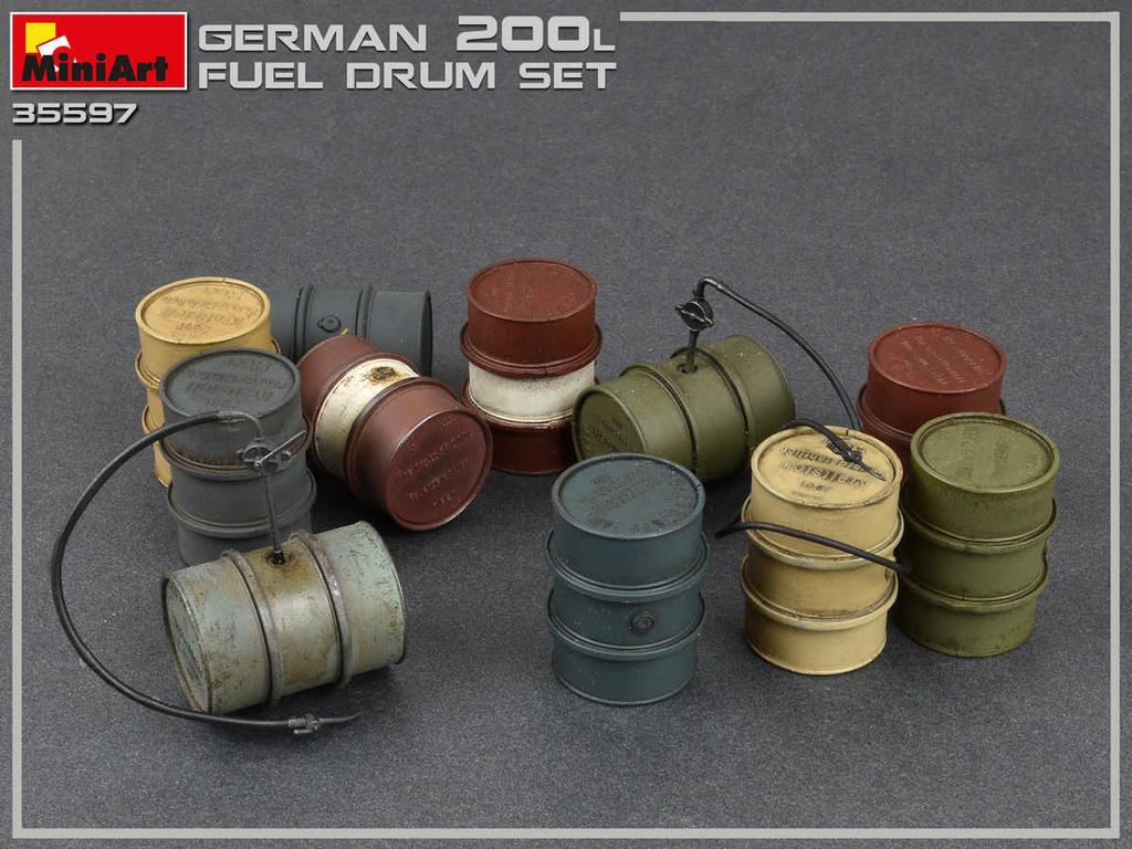 Bidones Combustible Alemanes de 200 L (Vista 4)