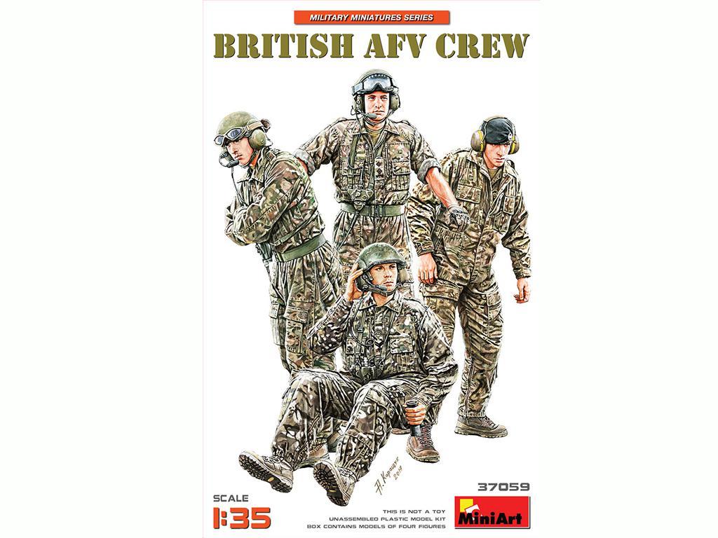 Tripulación de AFV británica (Vista 1)