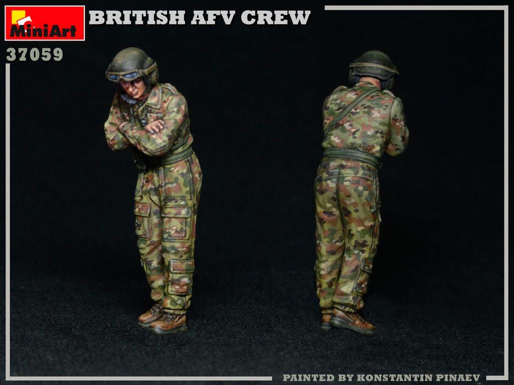 Tripulación de AFV británica (Vista 2)