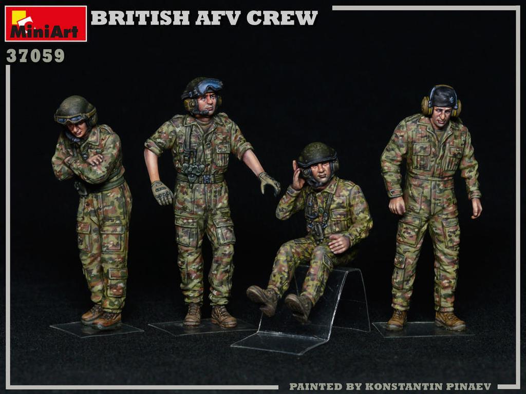 Tripulación de AFV británica (Vista 3)