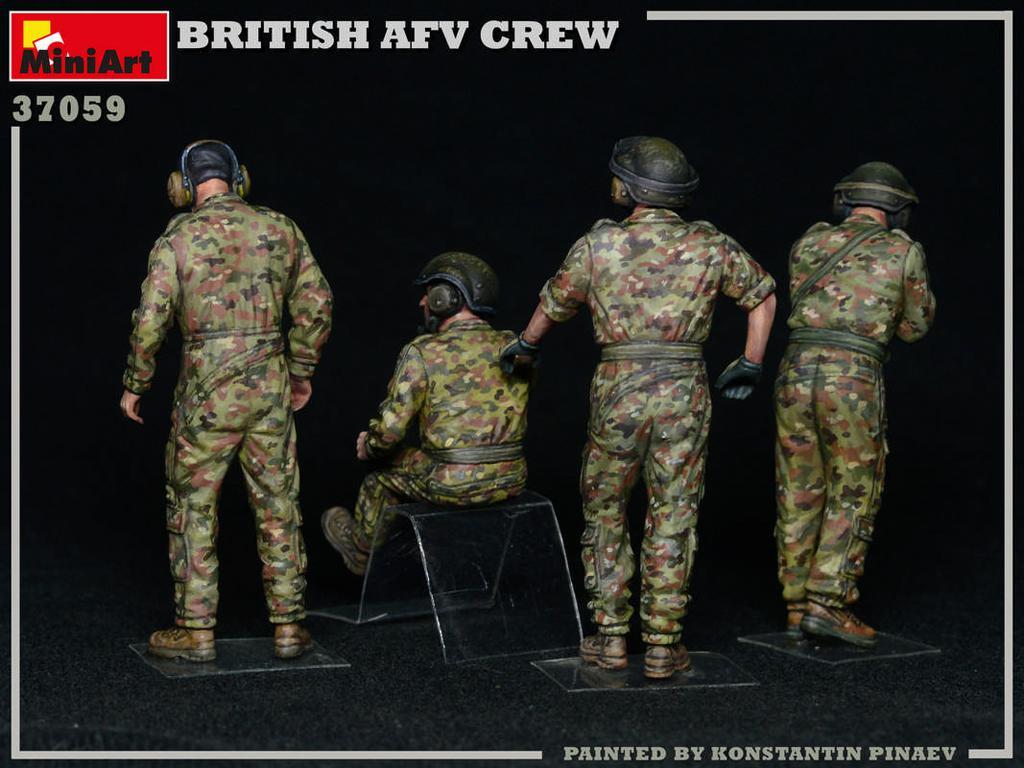 Tripulación de AFV británica (Vista 4)