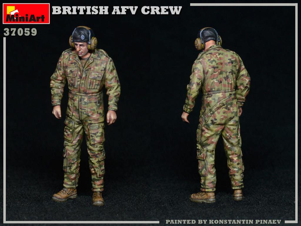 Tripulación de AFV británica (Vista 5)
