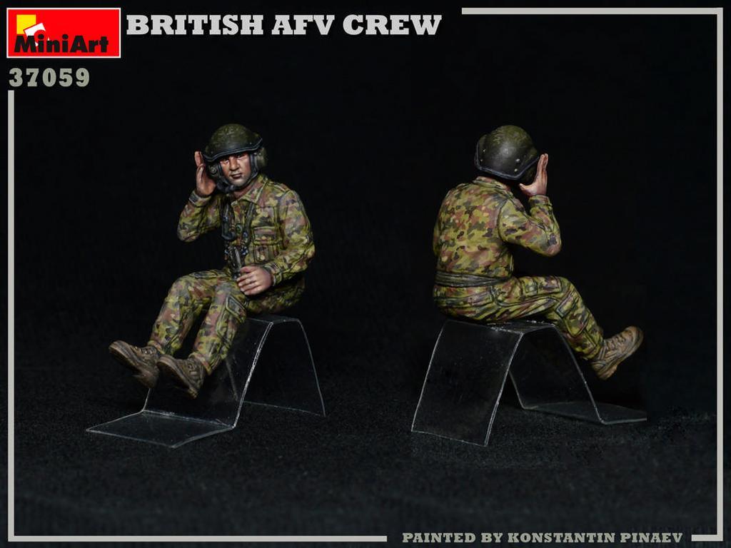 Tripulación de AFV británica (Vista 6)