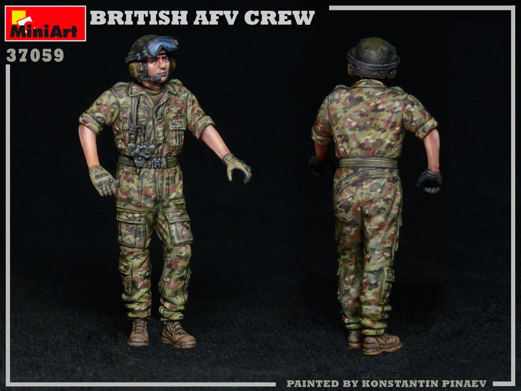 Tripulación de AFV británica (Vista 7)