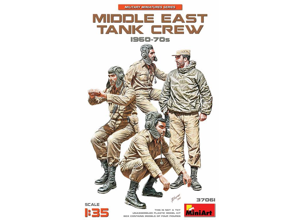 Tripulación de Oriente Medio 60-70s (Vista 1)