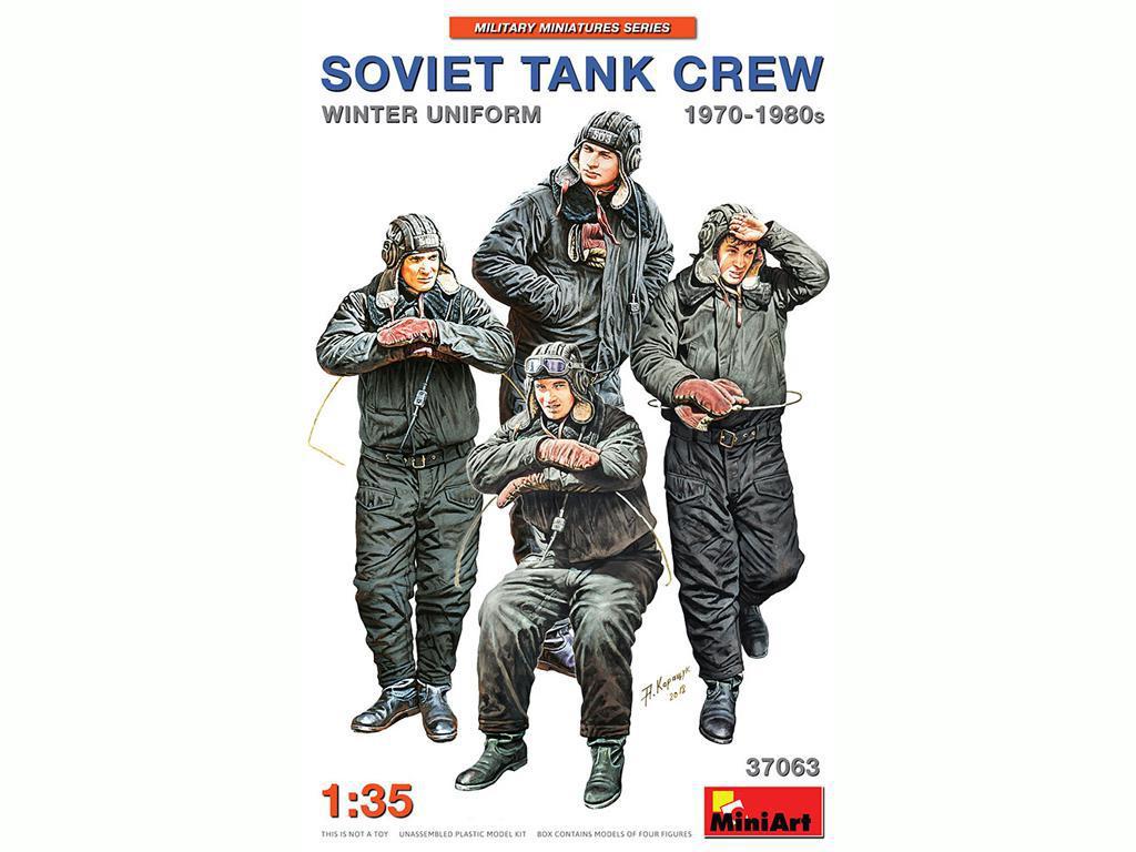 Tanquistas Sovieticos 1970/1980 Uniforme Invierno (Vista 1)