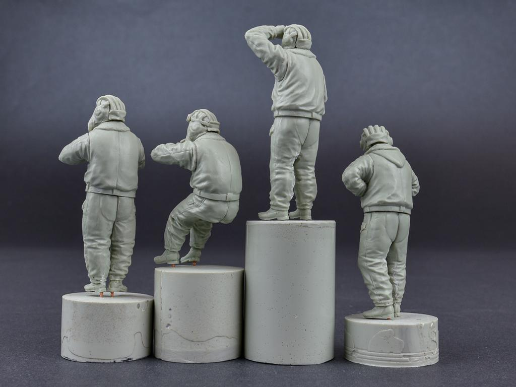Tanquistas Sovieticos 1970/1980 Uniforme Invierno (Vista 2)