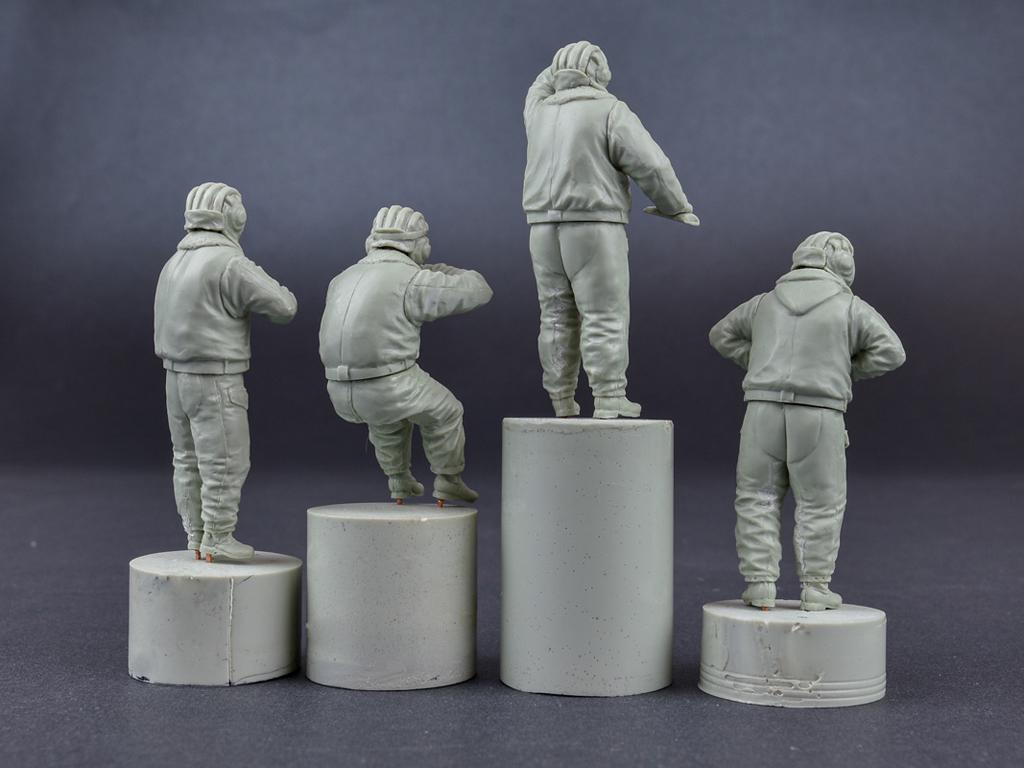 Tanquistas Sovieticos 1970/1980 Uniforme Invierno (Vista 3)