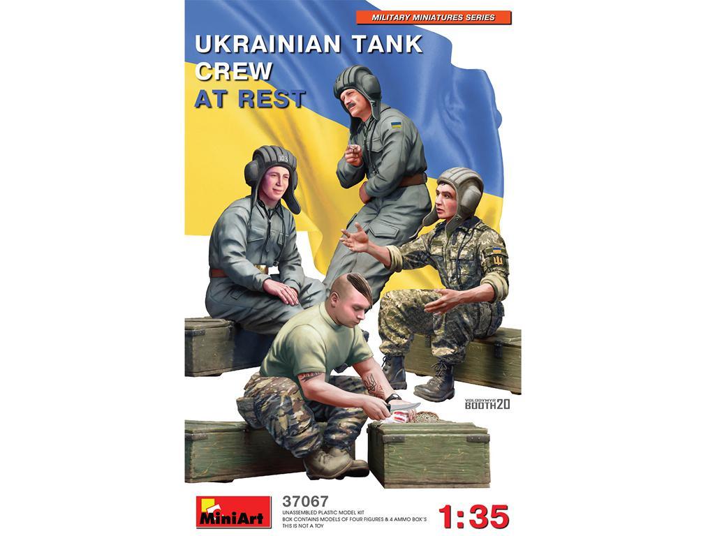 Tanquistas Ucranianos descansando (Vista 1)