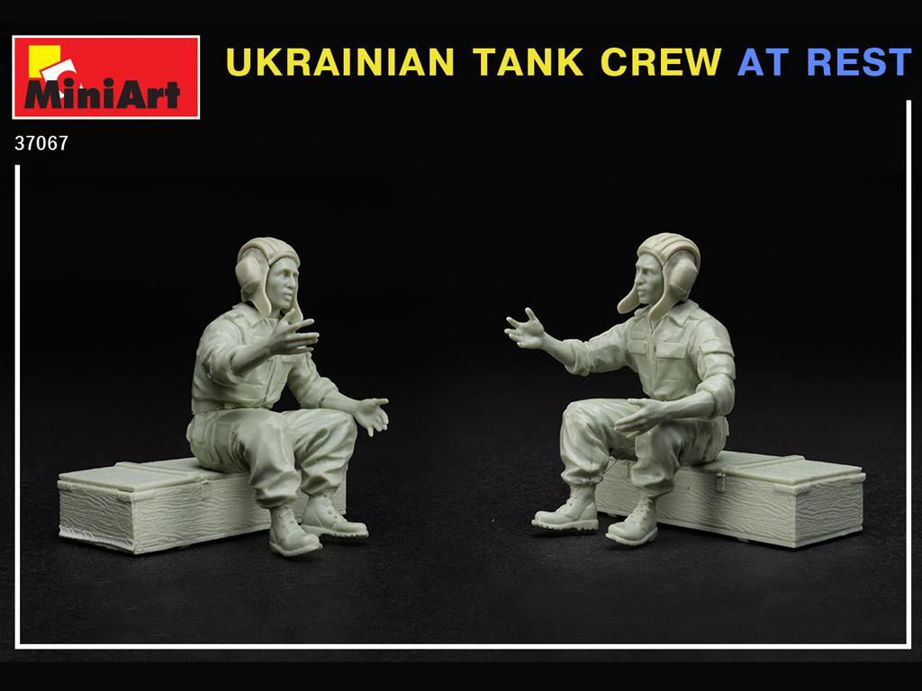 Tanquistas Ucranianos descansando (Vista 5)