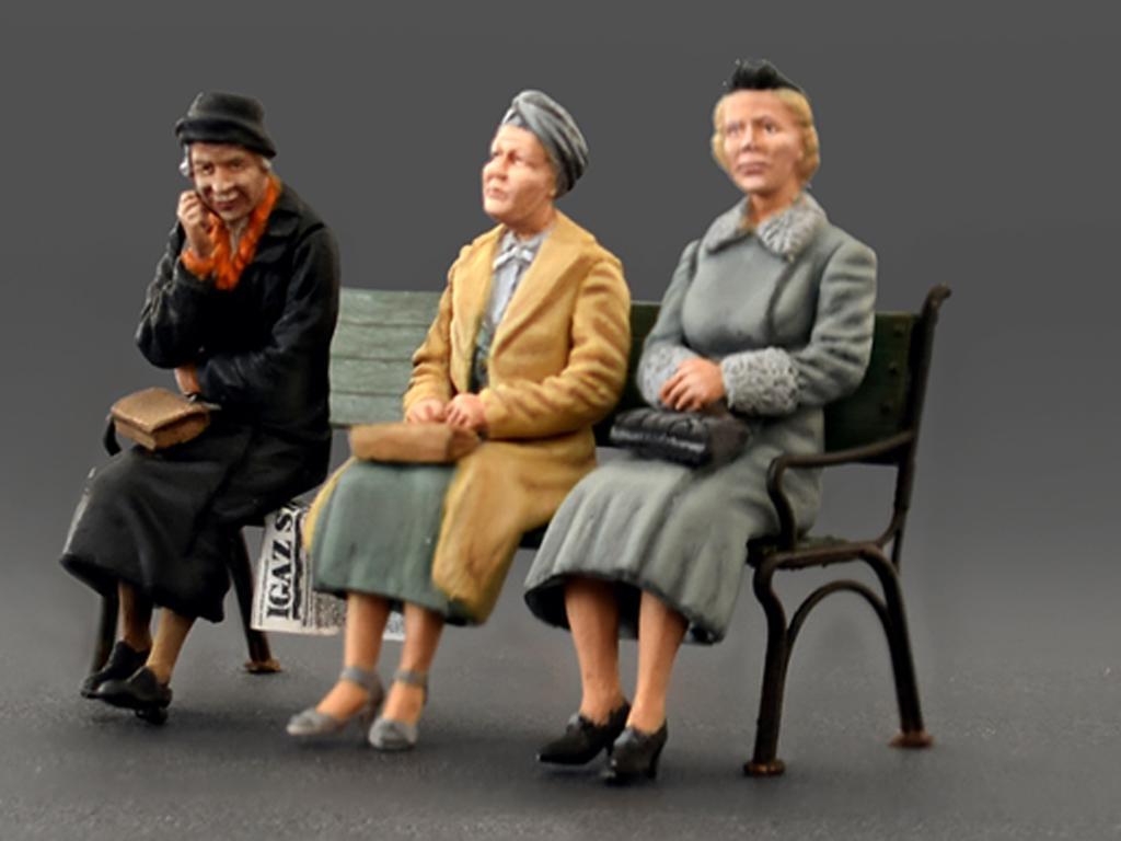 Pasajeros sentados '30 -'40S (Vista 2)