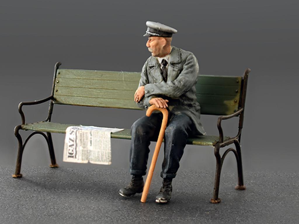 Pasajeros sentados '30 -'40S (Vista 3)