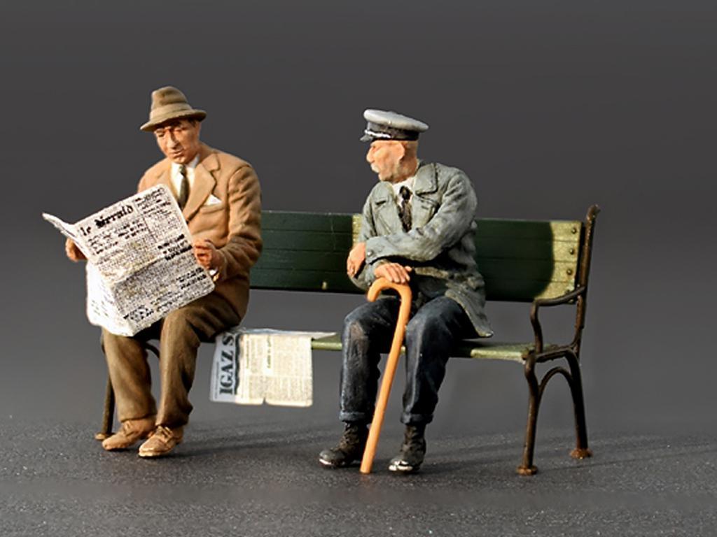 Pasajeros sentados '30 -'40S (Vista 4)