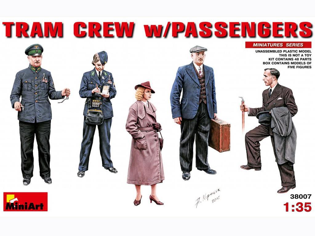 Revisores y pasajeros Tranvia (Vista 1)