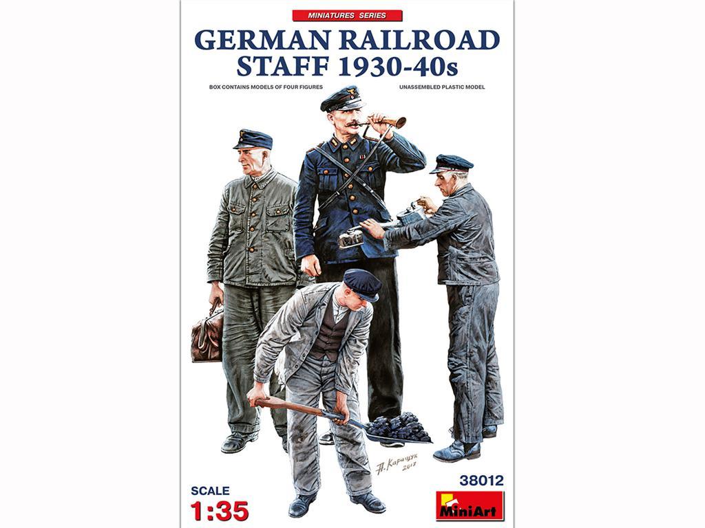 Equipo Aleman Ferroviario 1930/40 (Vista 1)