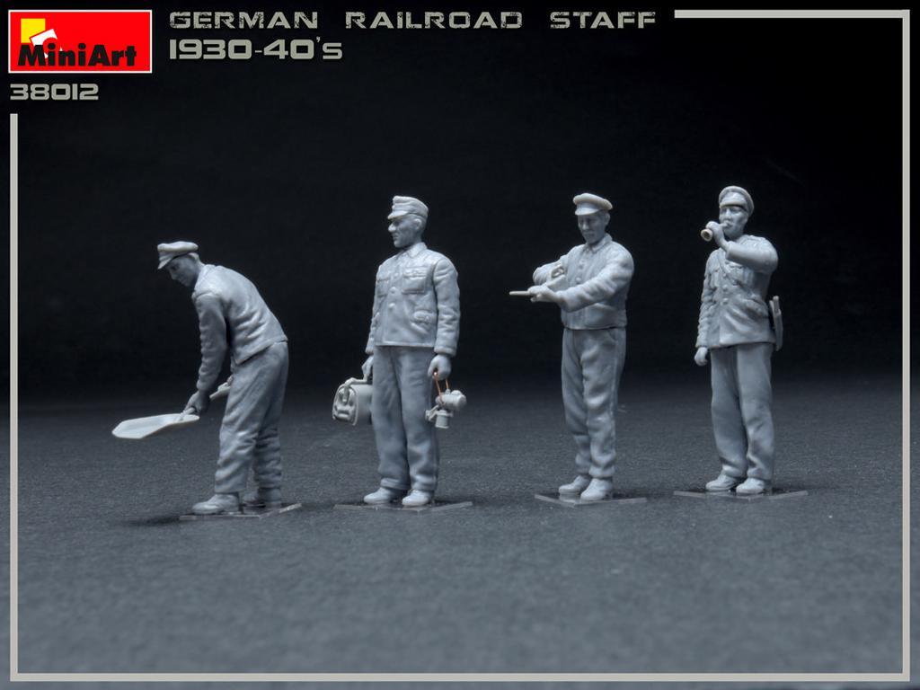 Equipo Aleman Ferroviario 1930/40 (Vista 2)