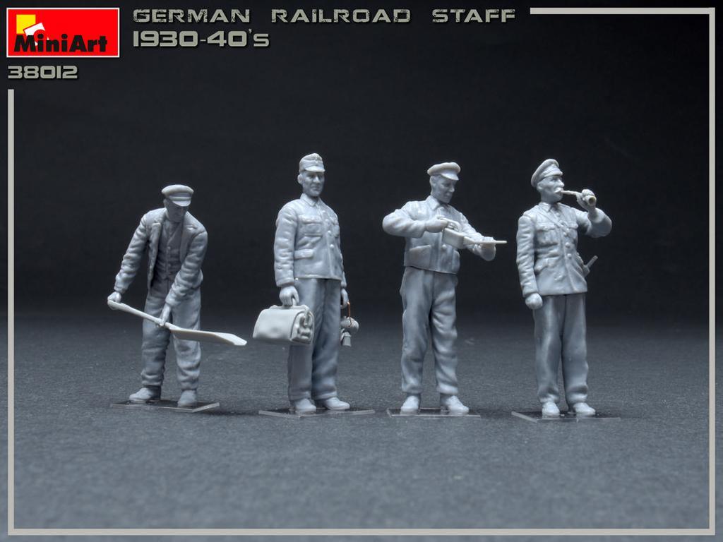 Equipo Aleman Ferroviario 1930/40 (Vista 3)