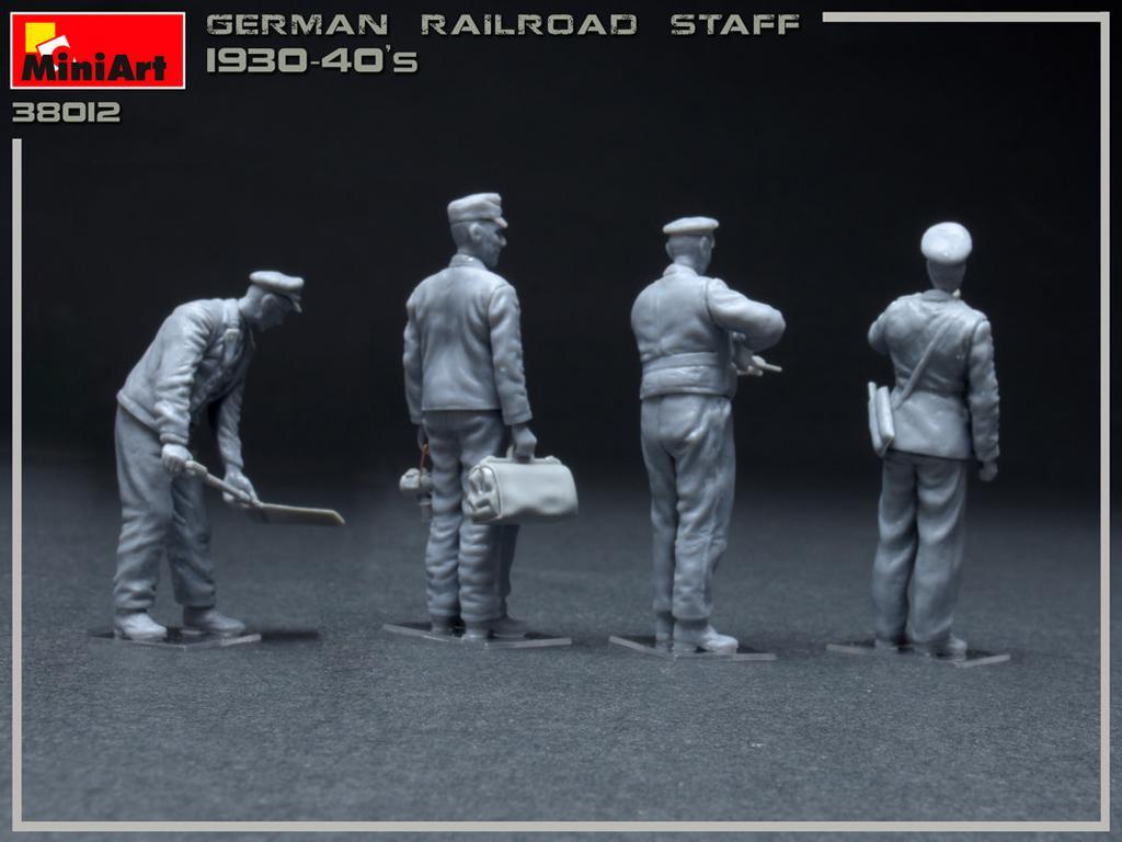 Equipo Aleman Ferroviario 1930/40 (Vista 4)